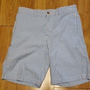 Vineyard Vines boys striped seersucker shorts